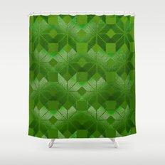 Evergreen Shower Curtain