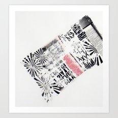 RETRO 6 Art Print