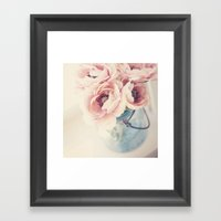 Ruffles Framed Art Print