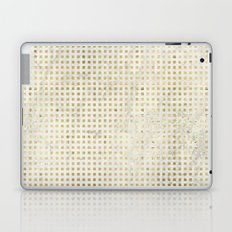 gOld squares Laptop & iPad Skin
