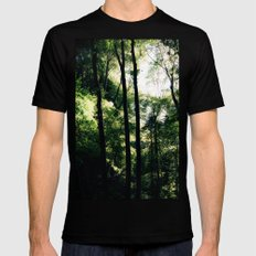 Inside the Cave Mens Fitted Tee Black SMALL