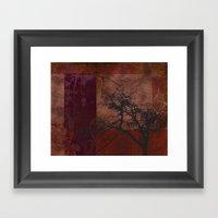 Memory Tree Framed Art Print