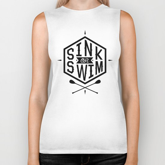 SINK OR SWIM Biker Tank