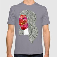 Anthea Mens Fitted Tee Slate SMALL