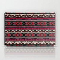 Navajo blanket pattern- red Laptop & iPad Skin