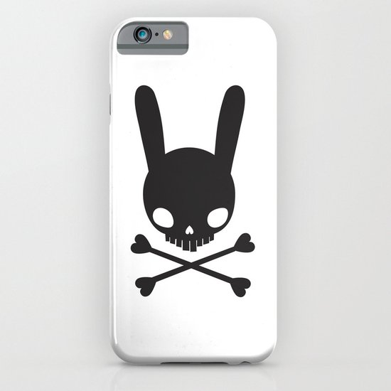 SKULL BUNNY OF PIRATES iPhone & iPod Case