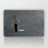 CRZN Dynamic Microphone Laptop & iPad Skin