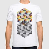 Dimension Mens Fitted Tee Ash Grey SMALL