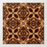 Canvas Print featuring Abstract Geometric Light… by J&C Creations