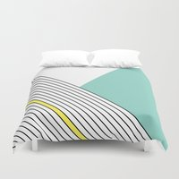 MINIMAL COMPLEXITY Duvet Cover