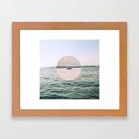 Inbetween Seasons Framed Art Print