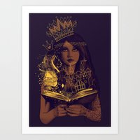 THE BELIEF OF CHILDHOOD Art Print