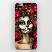 Victoria Rose iPhone & iPod Skin