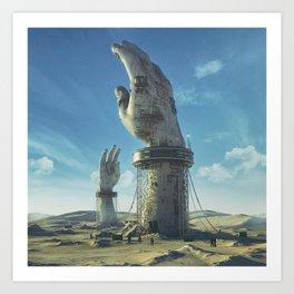 Art Print - RESTRAINED (everyday 02.10.16) - beeple