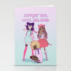 Support Your Local Girl … Stationery Cards