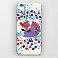 Berry fox - nostalgic iPhone & iPod Skin