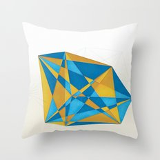 a new geometry Throw Pillow