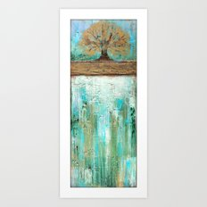Summers Roots Art Print