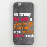 Sense of Humor iPhone & iPod Skin
