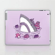 Birthday Princess Shark Laptop & iPad Skin