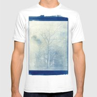 Genesis Mens Fitted Tee White SMALL
