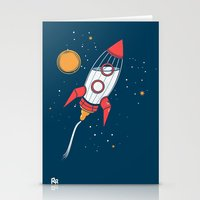 Bottle Rocket To The Mil… Stationery Cards