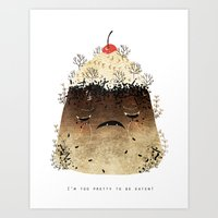 Black Forest: Too Pretty… Art Print