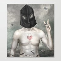 The Executioner Canvas Print