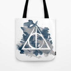 The Deathly Hallows (Ravenclaw) Tote Bag