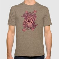 Rotting Flowers Mens Fitted Tee Tri-Coffee SMALL