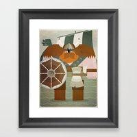 Viking 2 Framed Art Print