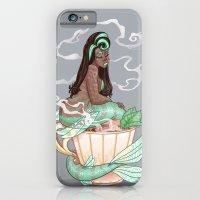 Mermaid Teas: Mocha Mint iPhone 6 Slim Case