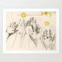 Seeking More Art Print