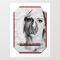 the cylons of the lambs Art Print