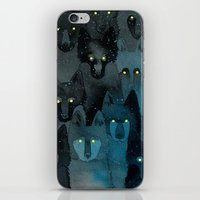In the Company of Wolves iPhone & iPod Skin