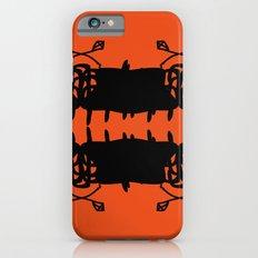 Orange AbstractArtwork iPhone 6s Slim Case