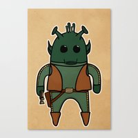 Greedo Canvas Print