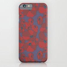 Mauve Poppies iPhone 6 Slim Case