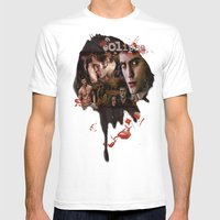 Eclipse Tribute By Marto… Mens Fitted Tee White SMALL