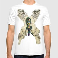 If You Dare Mens Fitted Tee White SMALL