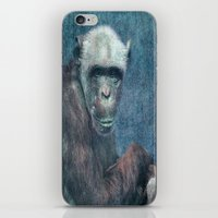 Blue Monkey iPhone & iPod Skin