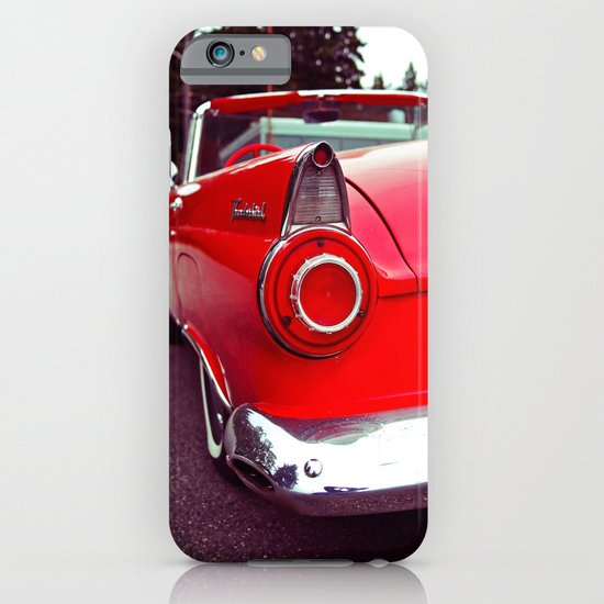 Nostalgic red iPhone & iPod Case