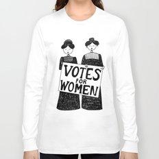 votes for women Long Sleeve T-shirt