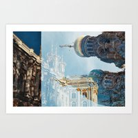 Russian Architecture Art Print