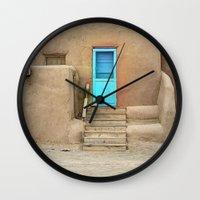 Pueblo No. 1 Wall Clock