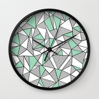 Abstraction Lines With M… Wall Clock