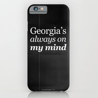 Georgia's always on my mind iPhone 6 Slim Case