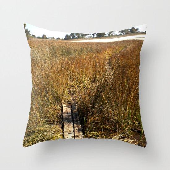 Beaufort, SC Throw Pillow