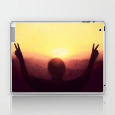 Peace Out Laptop & iPad Skin