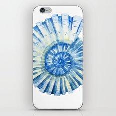 Blue Sea Snail iPhone & iPod Skin